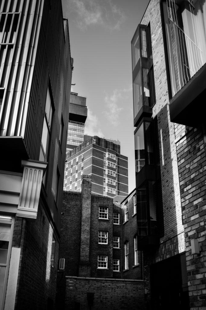 Central London architecture